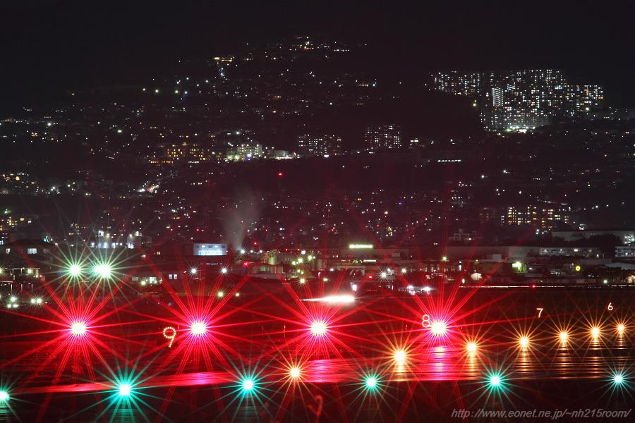 千里川土手の夜景(その2)@千里川土手