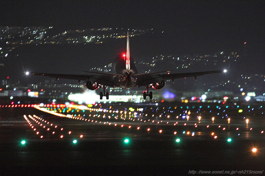 ERJ-190STD / JA???J@千里川土手