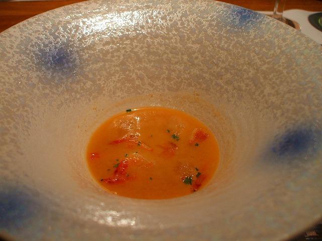サクラエビのスープ