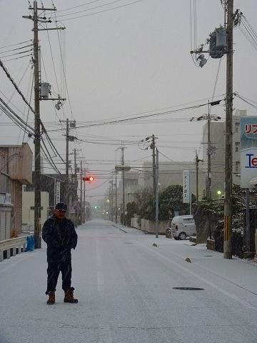 雪景色 上野田