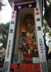 櫛田神社飾り山