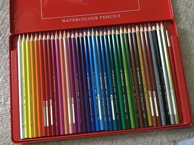色彩色鉛筆1