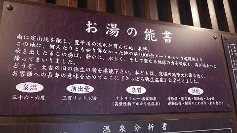 今年最初の温泉★極楽湯さっぽろ弥生店