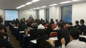 東京都ムスリム旅行者対応セミナー_講演風景