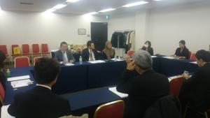 東京都ムスリム旅行者対応セミナー_グループワーキングの模様