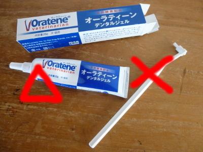 歯磨きは手ごわい