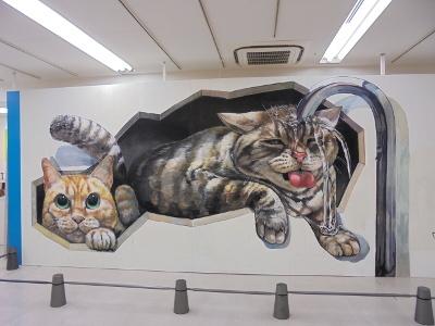 チョーヒカルさんの壁画