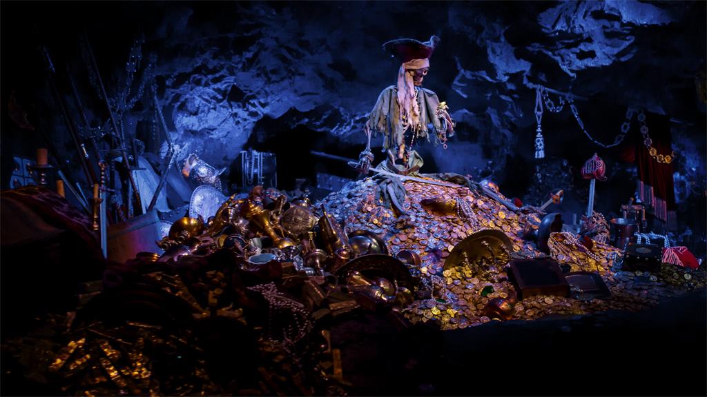 カリブの海賊 宝物(アトラクション)(アドベンチャーランド)(東京ディズニーランド)