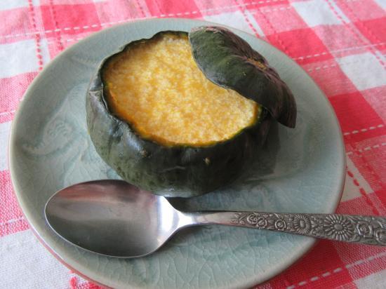 マシュマロ de 丸ごと南瓜のムース