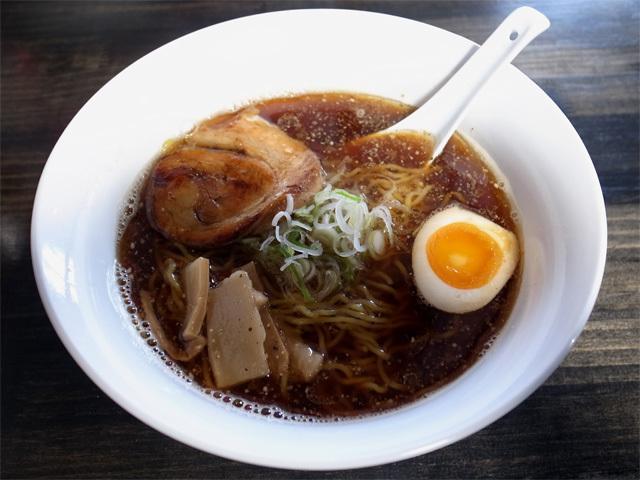 魚介スープ醤油