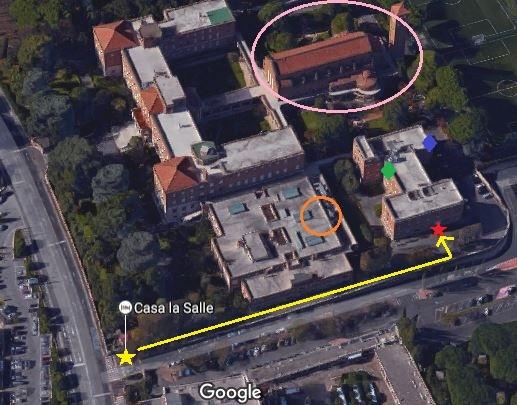 Casa La Salle Map