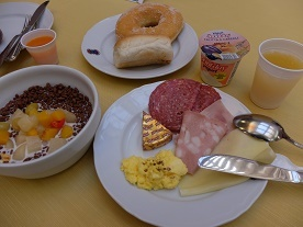 rome hotel meal2