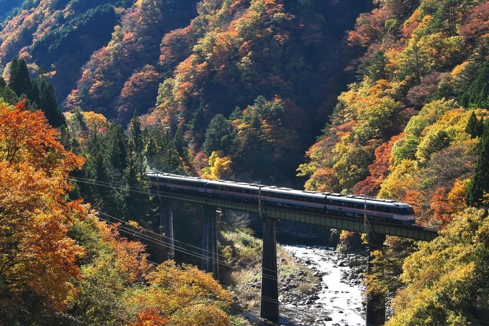 El exuberante paisaje desde la Línea Takayama