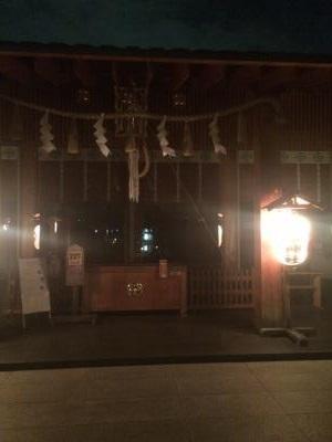 神楽坂赤城神社 本殿