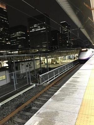 東京駅新幹線なすの
