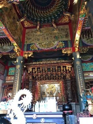 埼玉県 坂戸の秘境 道教寺院 聖天宮 本堂