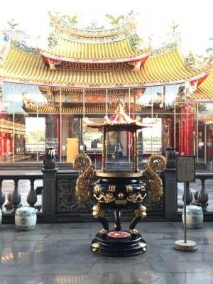 埼玉県 坂戸の秘境 道教寺院 聖天宮 香炉