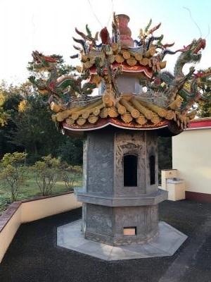 埼玉県 坂戸の秘境 道教寺院 聖天宮 神様へのお願い代を燃やして天に転送する
