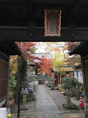 興禅寺 (宇都宮市) 境内へ