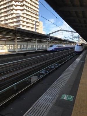 東北新幹線 宇都宮駅