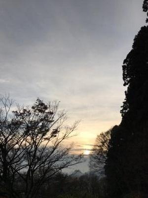 羽黒山 展望台より遠望