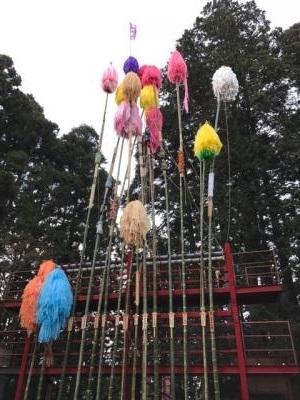 羽黒山神社 梵天祭りの後