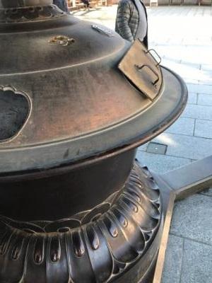 成田山 香炉で運気をもらいましょう