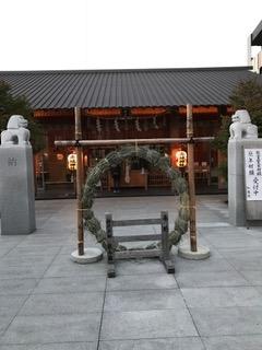 神楽坂守護神 赤城神社 お正月準備