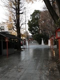 神楽坂守護神 赤城神社