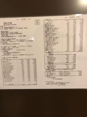 松島温泉 乙女の湯 成分表 お肌つるつる!