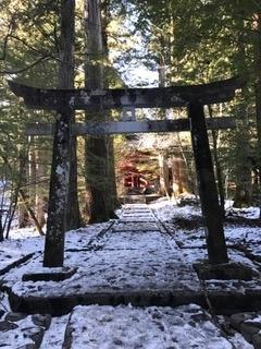 日光最強霊地 滝尾神社 運試しの鳥居と山門