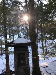 日光最強霊地 滝尾神社 階段を上る