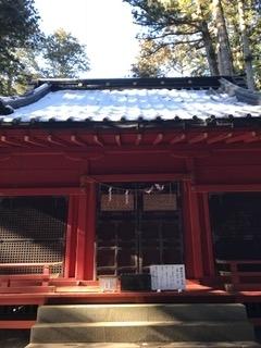 日光最強霊地 滝尾神社 本殿