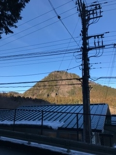 日光最強霊地 開山堂から見る外山