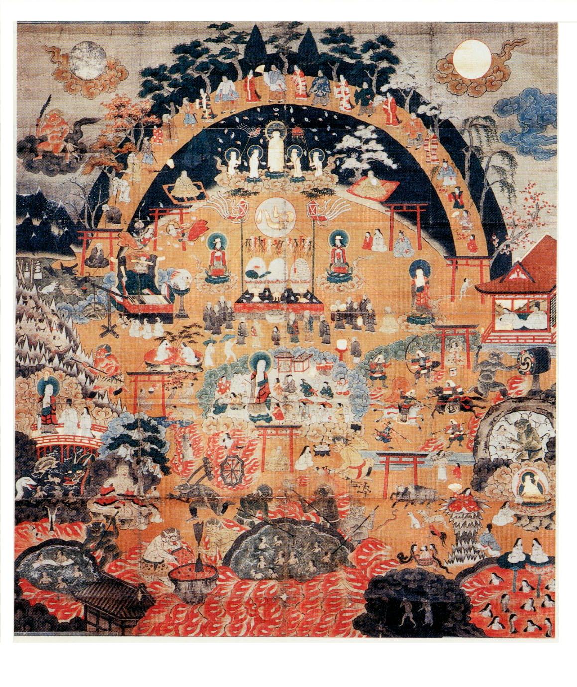 熊野十界曼荼羅