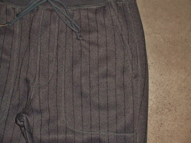 NORULE Knit fleece stripe pants ft2