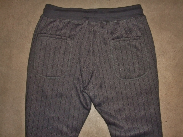 NORULE Knit fleece stripe pants ft4