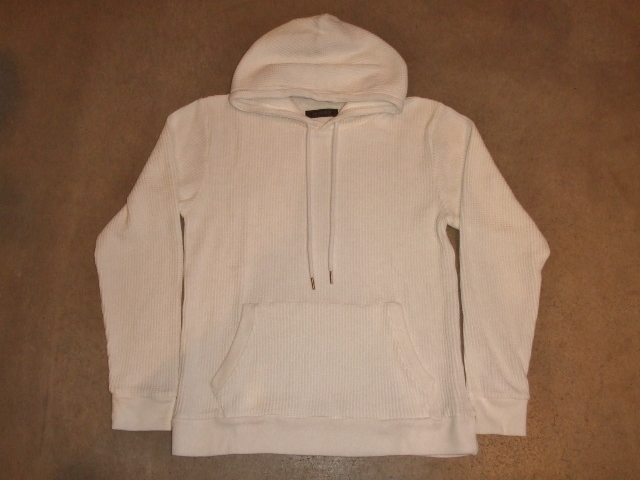 NORULE Heavy thermal Pullover parka white ft1