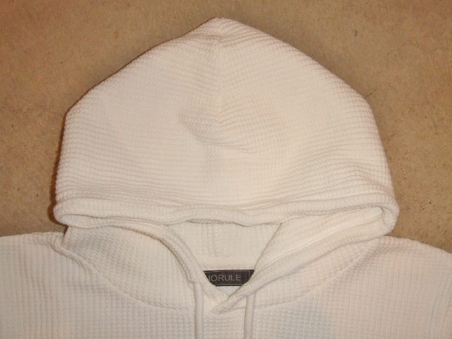 NORULE Heavy thermal Pullover parka white ft2