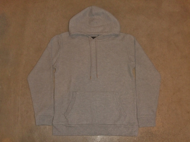 NORULE Heavy thermal Pullover parka gray