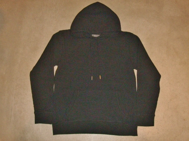 NORULE Heavy thermal Pullover parka black