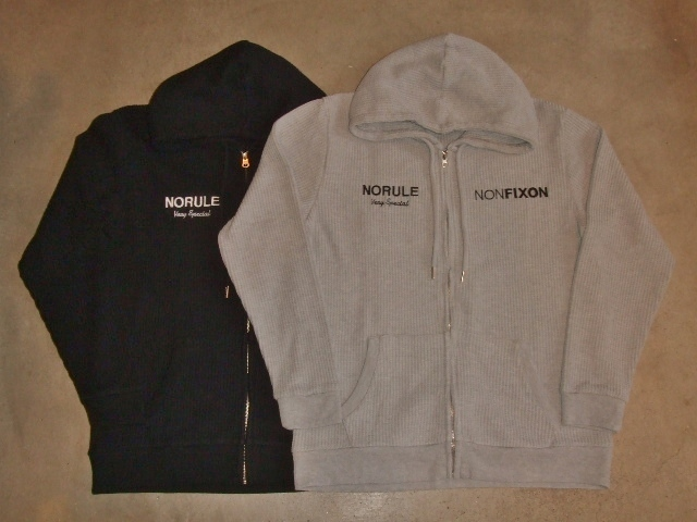 NORULE Heavy thermal zip parka