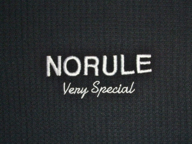 NORULE Heavy thermal zip parka black ft3
