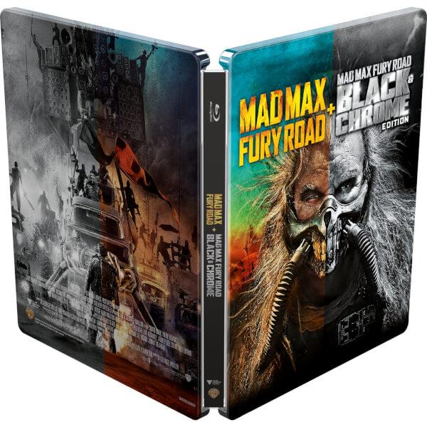マッドマックス 怒りのデス・ロード ブラック&クロームエディション zavvi スチールブック