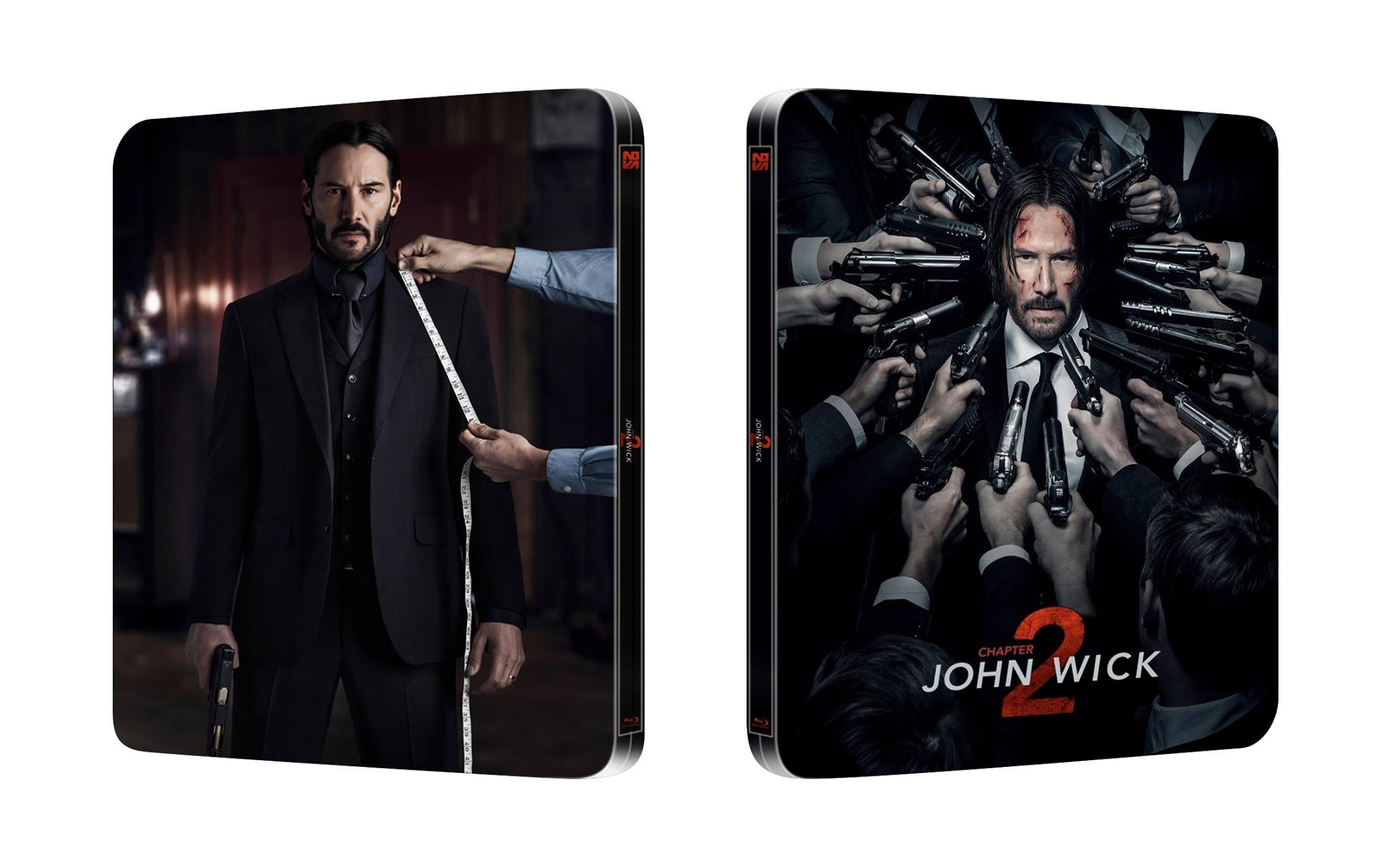 John Wick Chapter 2 steelbook スチールブック
