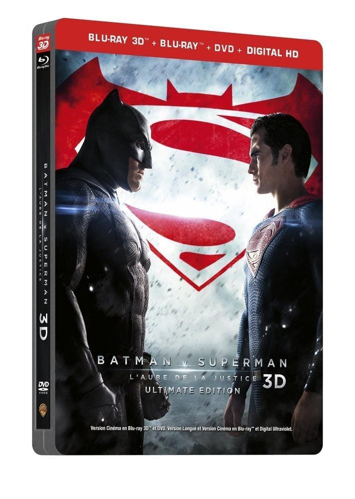 バットマン vs スーパーマン ジャスティスの誕生 フランス スチールブック