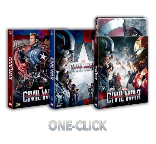 シビル・ウォー/キャプテン・アメリカ Nova choice スチールブック