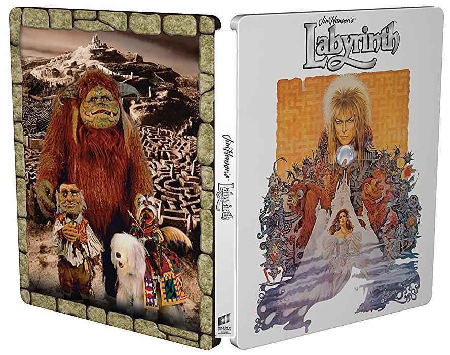 ラビリンス 魔王の迷宮 30周年アニバーサリー・エディション UK 4K UHD スチールブック