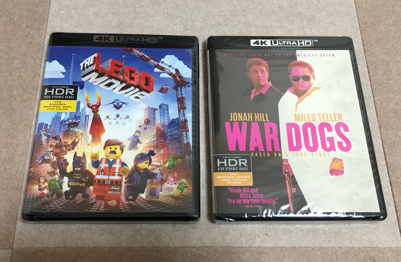 WAR DOGS 4K UHD