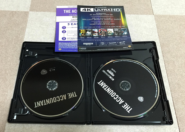 ザ・コンサルタント 4K Ultra HD